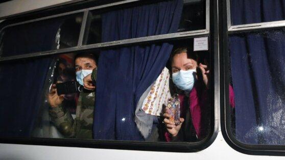 МИД прокомментировал протесты из-за эвакуации украинцев из Китая