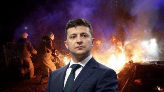 Зеленский обвинил в организации беспорядков «вирусологов в спортивных костюмах»