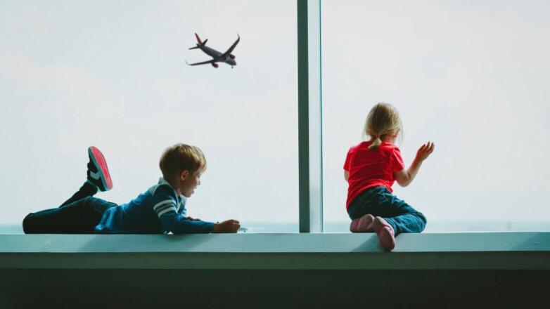 дети аэропорт