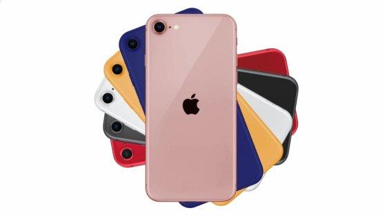 В сети появились свежие фотографии iPhone 9 в шести цветах
