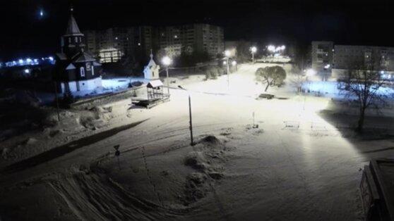 Падение метеорита в Карелии зафиксировали на видео