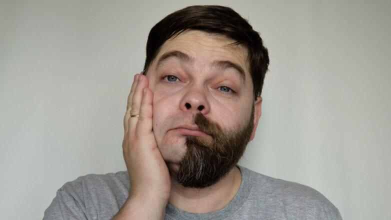 с бородой и без бороды