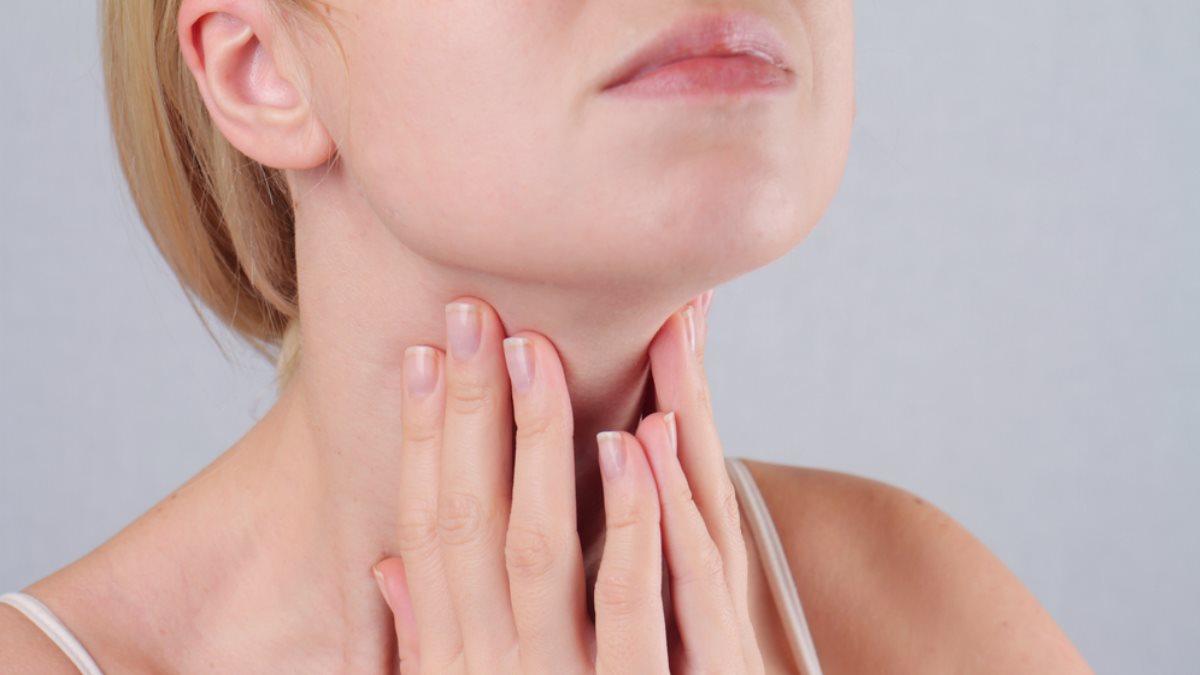 Щитовидная железа женщина