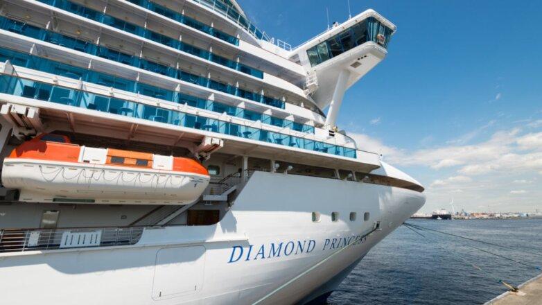 Круизный лайнер Diamond Princess
