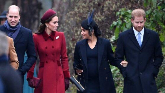Стала известна первая реакция принца Уильяма на Меган Маркл
