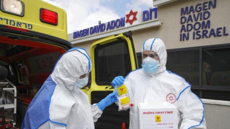 Израиль коронавирус