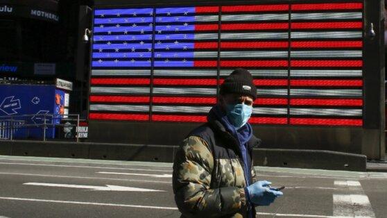 В США число смертей от коронавируса за сутки достигло рекорда