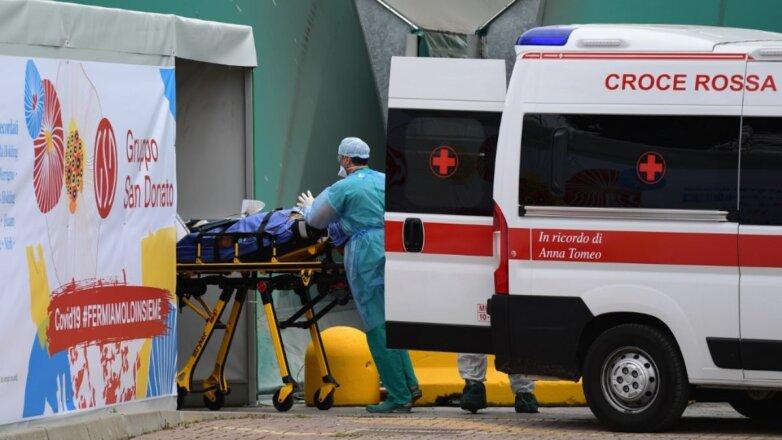 Италия коронавирус скорая помощь