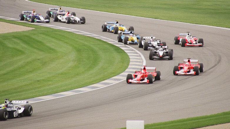 Формула-1 Болид гонки