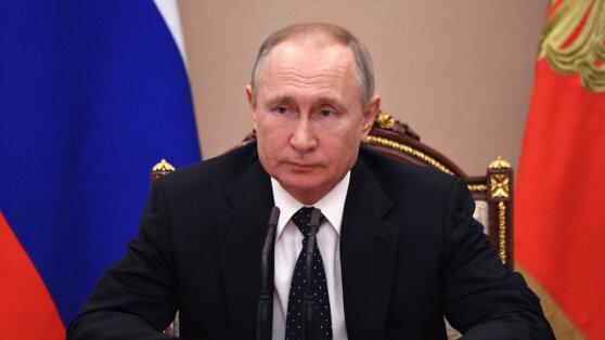 Онлайн-трансляция обращения Путина к россиянам 2 апреля