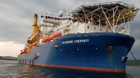 Способное достроить «Северный поток - 2» судно обогнуло Африку