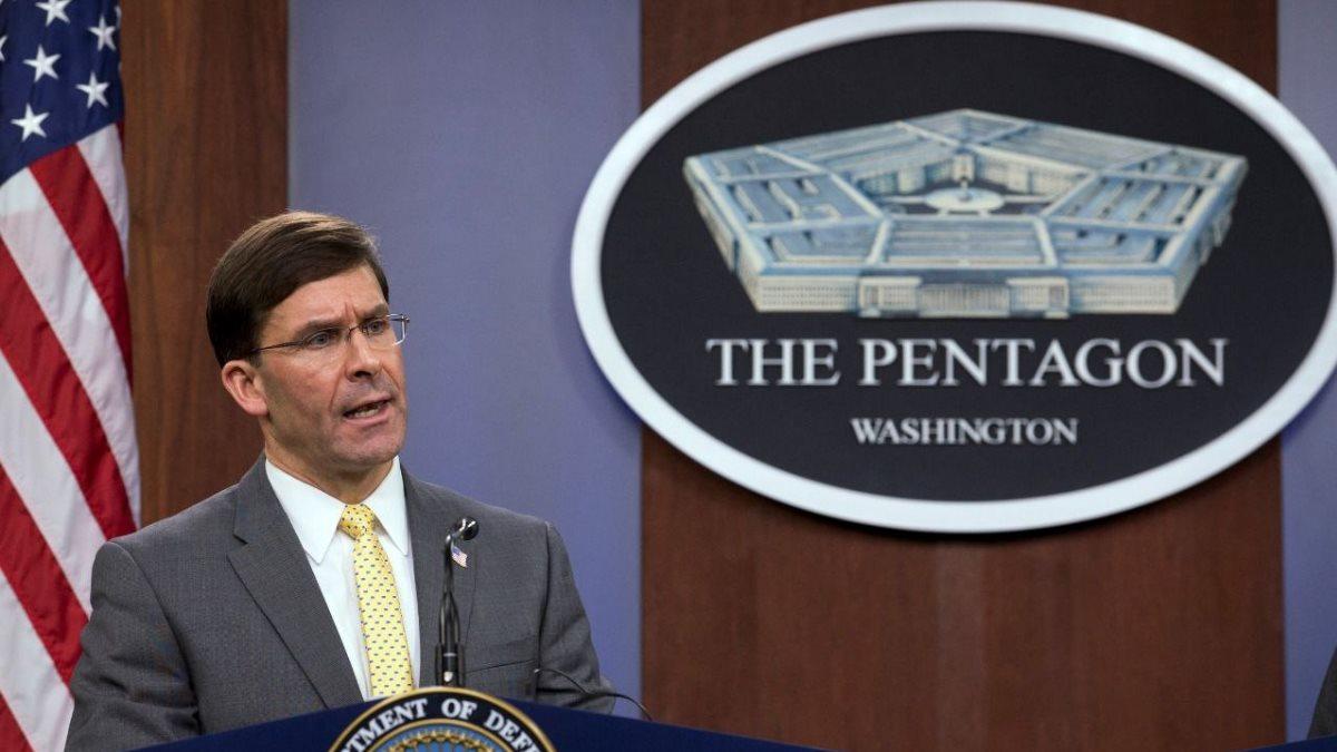 Министр обороны США Марк Эспер - Mark Esper один