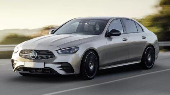 В сети показали первые изображения нового Mercedes-Benz C-Class
