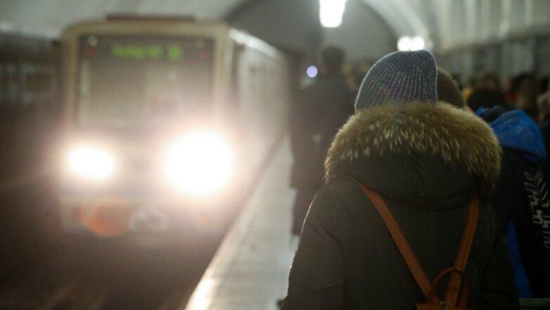 Московский метрополитен зима