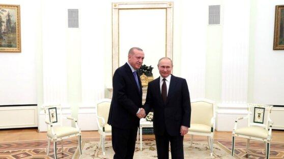 Подведены итоги трехчасовых переговоров Путина и Эрдогана тет-а-тет