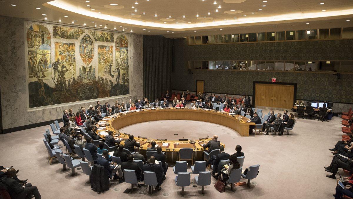 Заседание Совбеза ООН Совета Безопасности один
