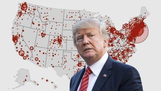 Американские власти поделились прогнозом пика смертности от коронавируса