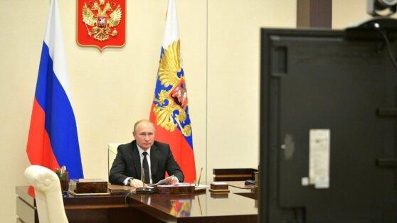Путин проведет совещание с кабмином в дистанционном формате