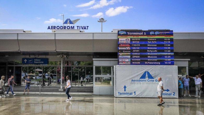 аэропорт Тиват Черногория