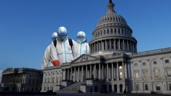В США зафиксирован новый антирекорд по числу смертей от коронавируса