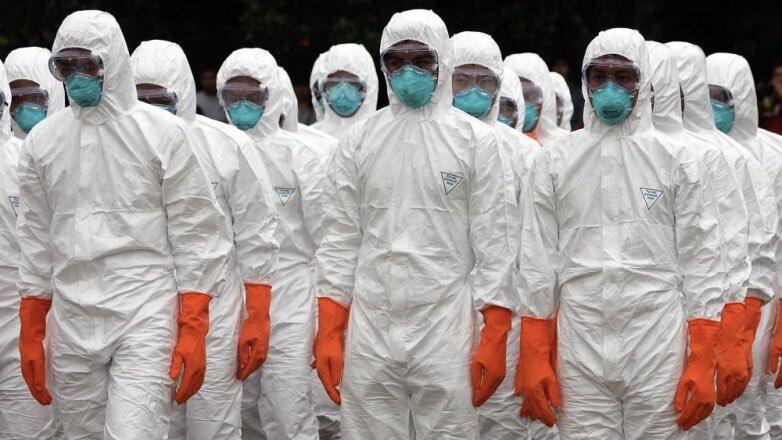 отряд борцов с коронавирусом