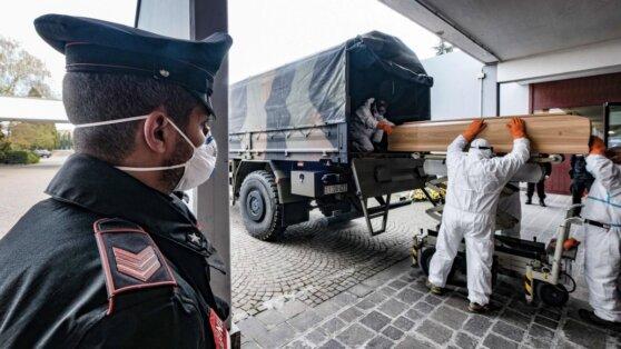 В Италии зафиксировали новый рекорд смертности от коронавируса