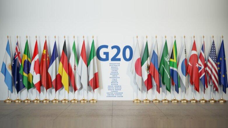 Cаммит G20 флаги