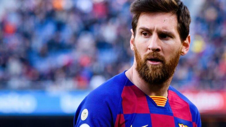 Футболист Лионель Месси - Lionel Messi бок
