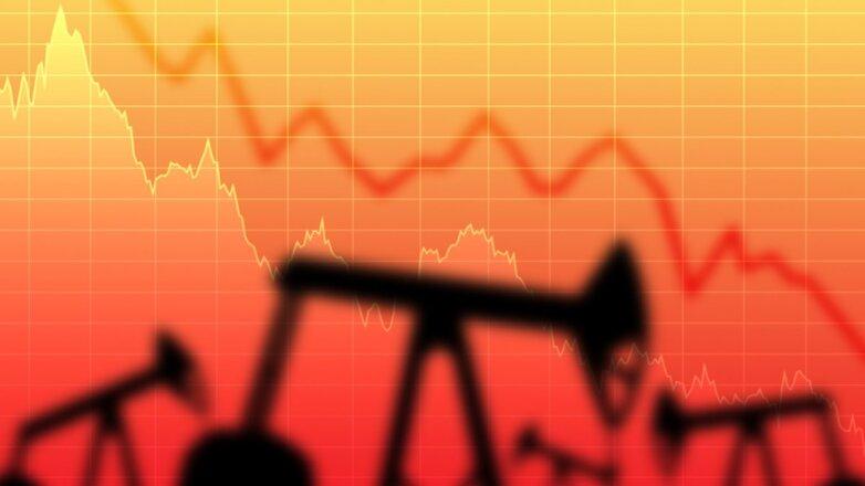 Нефть цена падение снижение