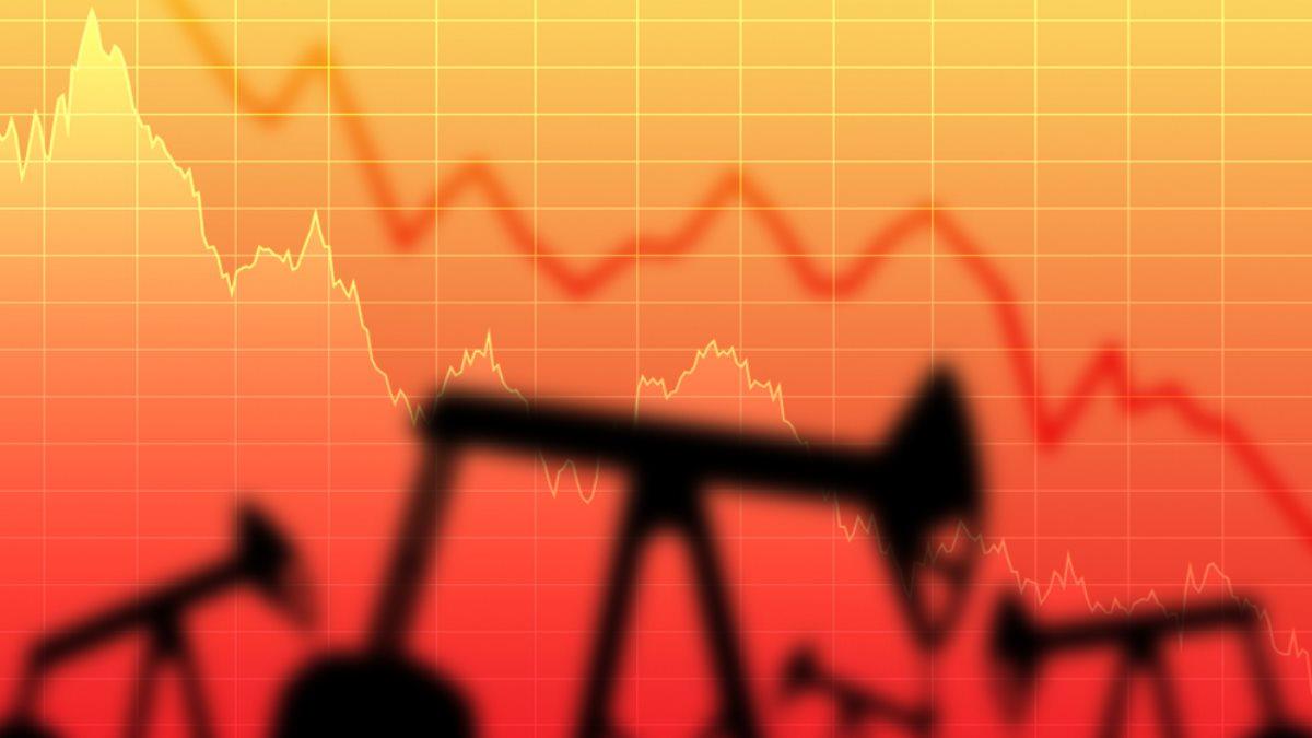 нефть добыча цена падение снижение два
