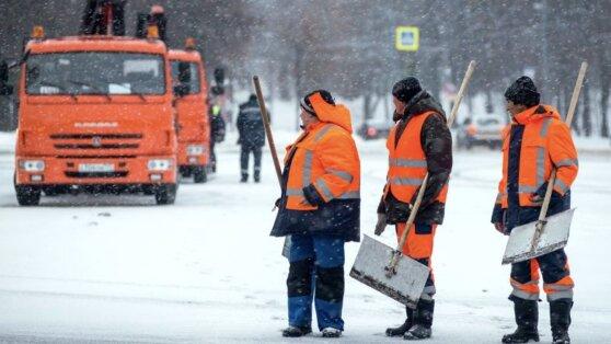 Москвичей предупредили о снегопаде и метели
