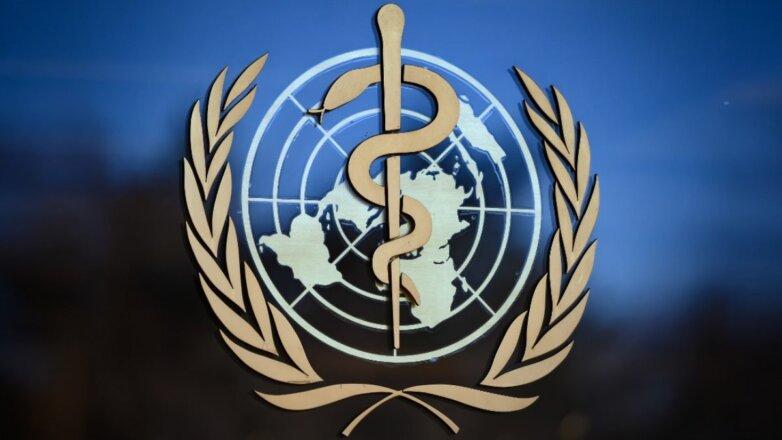 Всемирная организация здравоохранения - ВОЗ логотип