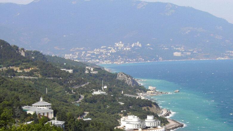Ялта Крым Море