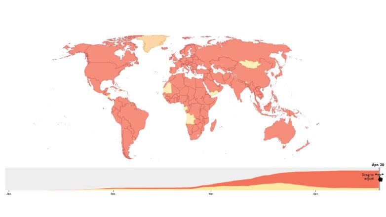 Карта Коронавирус
