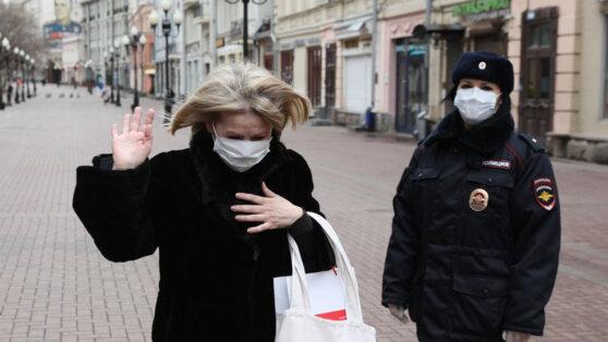 В Москве суды оштрафовали девять человек за нарушение режима самоизоляции