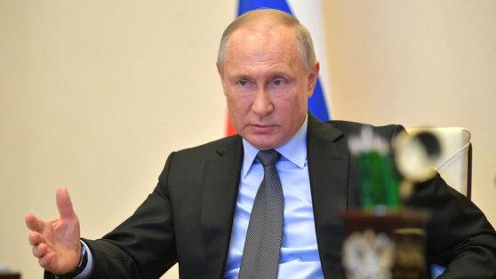 Путин заявил, что пик заболеваемости коронавирусом в России пройден