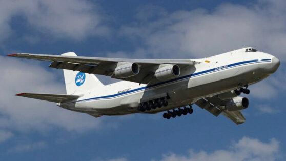 Российский самолет с медоборудованием на борту вылетел в США