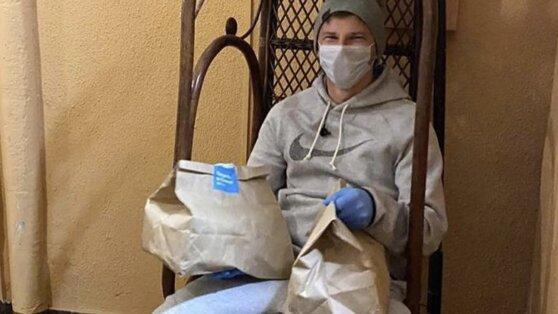 Аршавин поработал курьером по доставке еды на фоне коронавируса