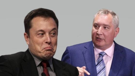 Маск припомнил Рогозину его слова о доставке астронавтов к МКС на батуте