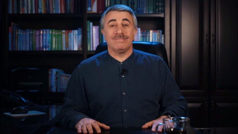Доктор Евгений Комаровский врач телеведущий