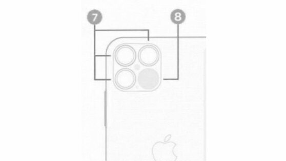 В сети показали новое изображение камеры iPhone 12