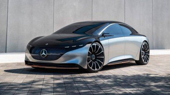 Mercedes-Benz представит новый электромобиль EQS
