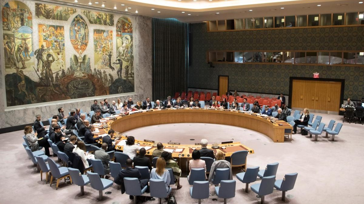Заседание Совбеза ООН Совета Безопасности два