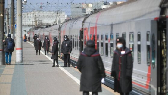 Роспотребнадзор подготовил рекомендации для поездов дальнего следования