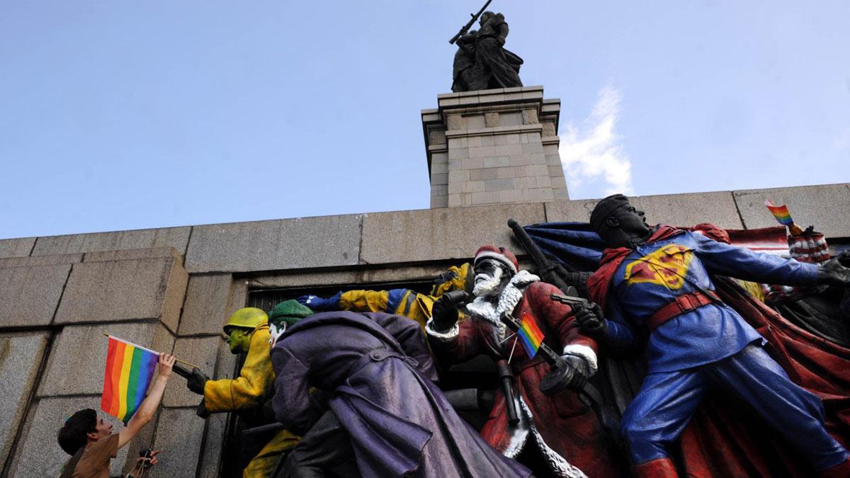 Памятник Советским солдатам в Софии