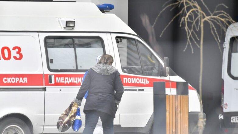 Россия Скорая помощь коронавирус Коммунарка пациентка