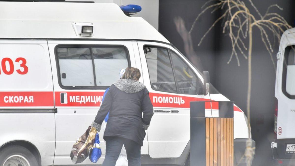 Россия Скорая помощь коронавирус Коммунарка пациентка три