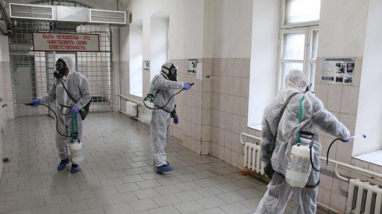Коронавирус ФСИН тюрьма дезинфекция