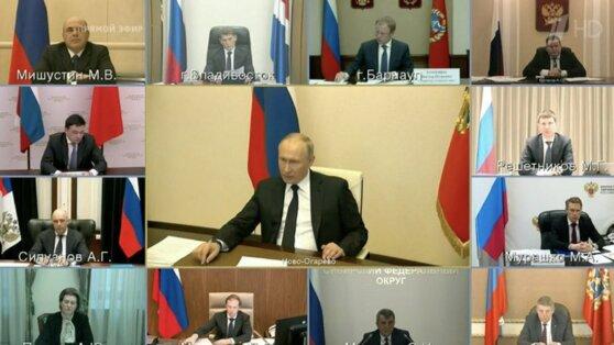 Путин заявил о необходимости возвращения к нормальному графику работы