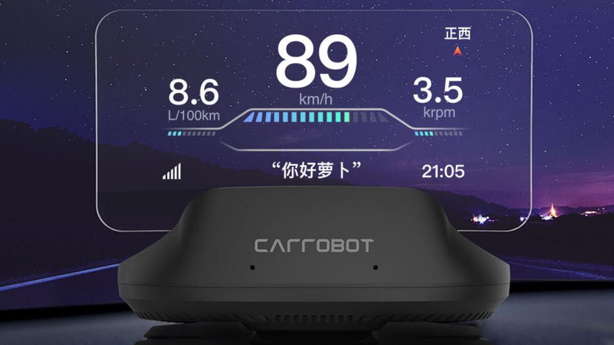 Автомобильный проекционный дисплей Xiaomi Carrobot Smart Head-Up Display